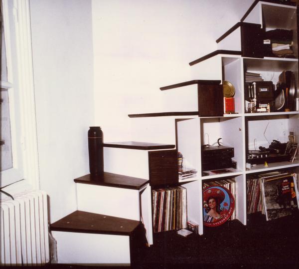 Amibois escalier ame nage en wengue - Escalier tiroir pour mezzanine ...